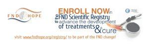 Enrol in FND Scientific Registry